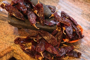 dried California chiles